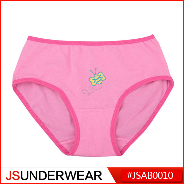 Girl's Underwear with Butterfly