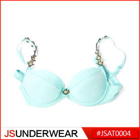 Blue Nude Bra,Freash Color,New Fashion