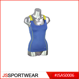 Women's Fitness Singlet, Gym Excercise Activewear, Sexy Sports Wear