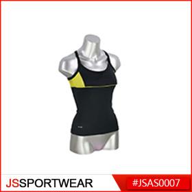 Custom Women Sports Wear Yoga Vest Compression Fitness Wear