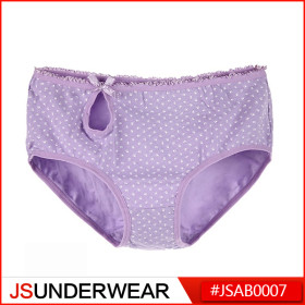 Girl's Underwear with Bowing